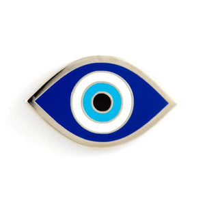 THESE ARE THINGS Enamel Pin Evil Eye