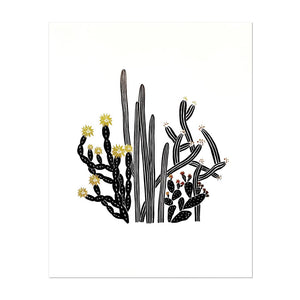 ODD DAUGHTER Art Print Cactus No. 5