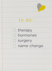 GAY GREETINGS To Do List