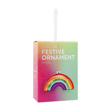 Load image into Gallery viewer, SUNNYLIFE Festive Ornament Rainbow