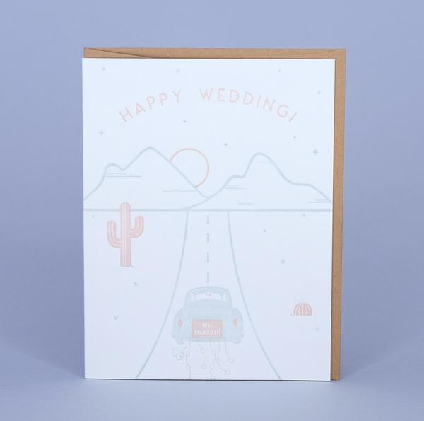 PRICKLY PEAR PAPER Just Married