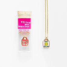 Load image into Gallery viewer, YELLOW OWL WORKSHOP Bottled Necklace Thanks For Shopping