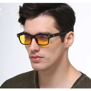 The Victor: Anti-Glare Lenses - Blue Shields