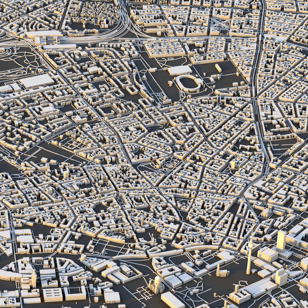 Berlin City Map - Luis Dilger