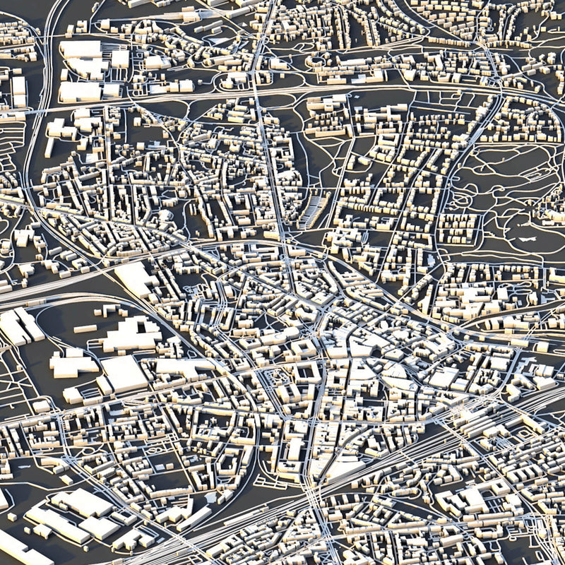 Bochum City Map