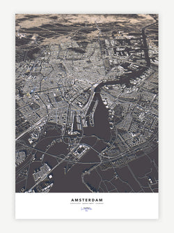Amsterdam City Map - Luis Dilger