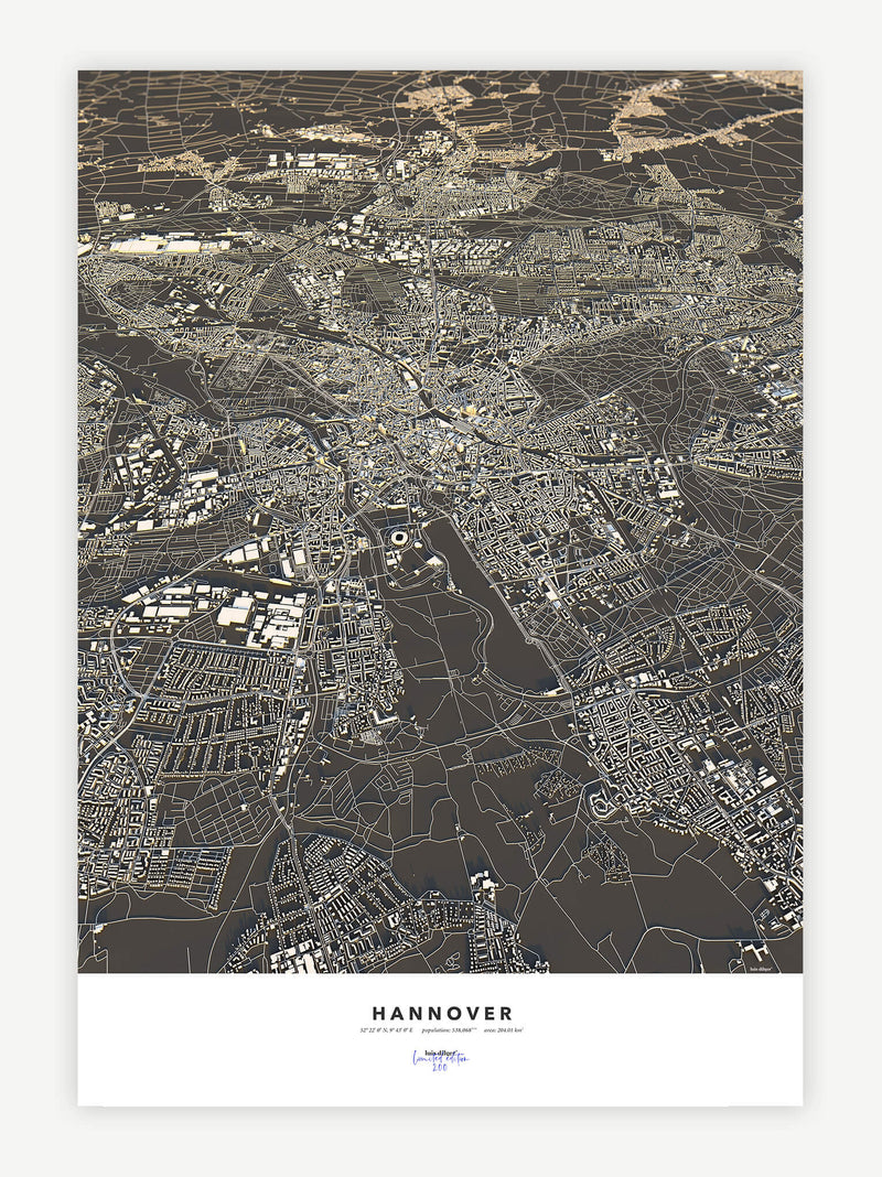 Hannover City Map