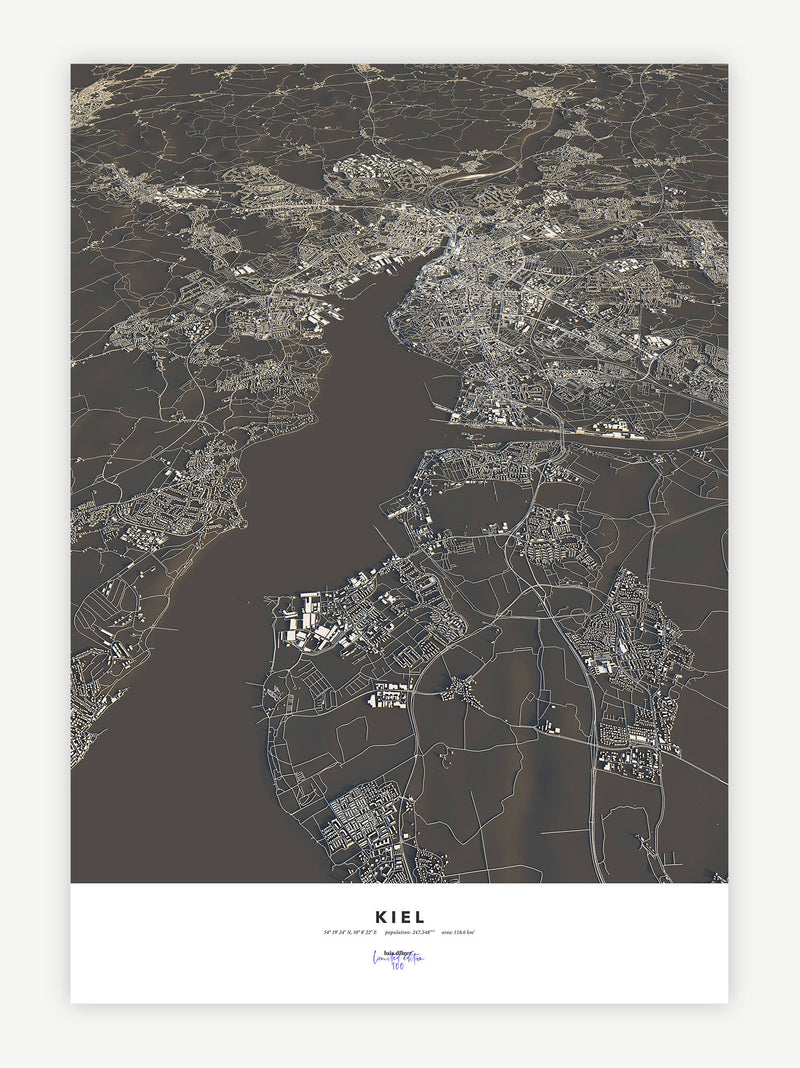 Kiel City Map