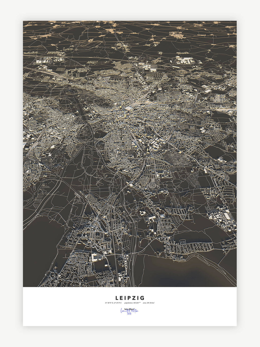 Leipzig City Map