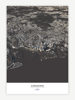 Singapore City Map - Luis Dilger