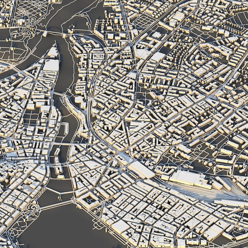 Geneva City Map