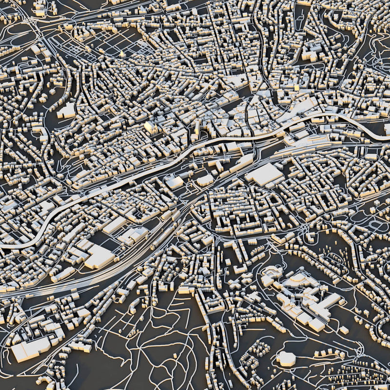 Wuppertal City Map