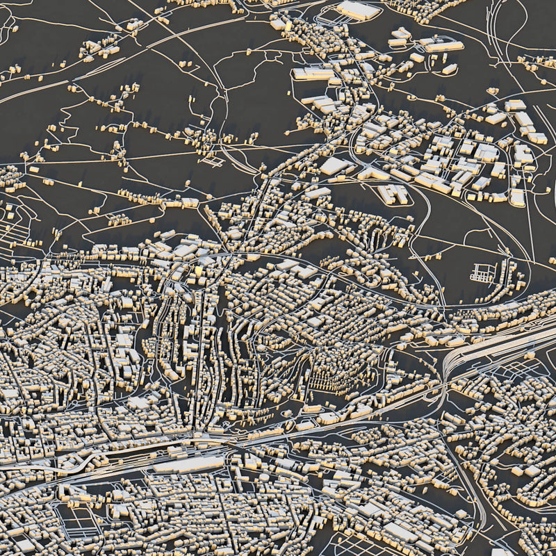 Wuppertal City Map - Luis Dilger