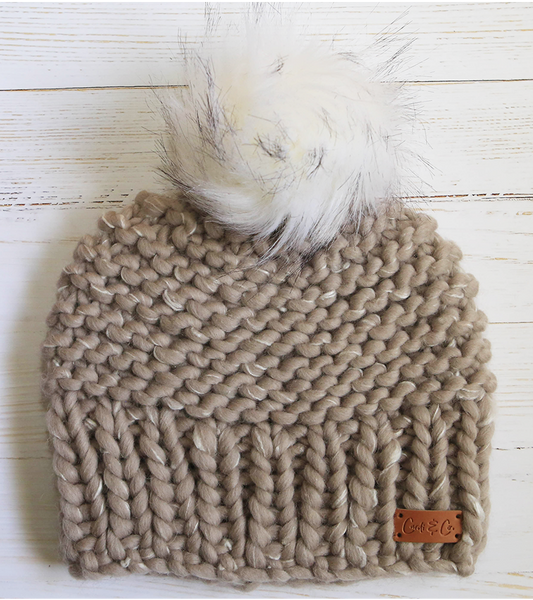 Beanie ~ Dream ~ Latte - Cardi and Co.