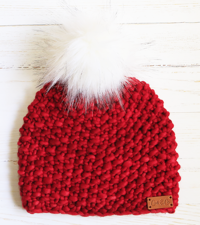 Beanie ~ Wonder ~ Ruby Red - Cardi and Co.