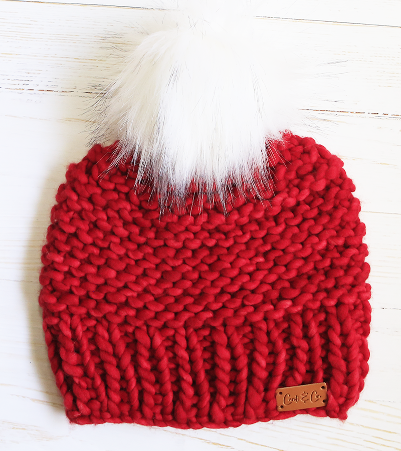 Beanie ~ Dream ~ Ruby Red - Cardi and Co.