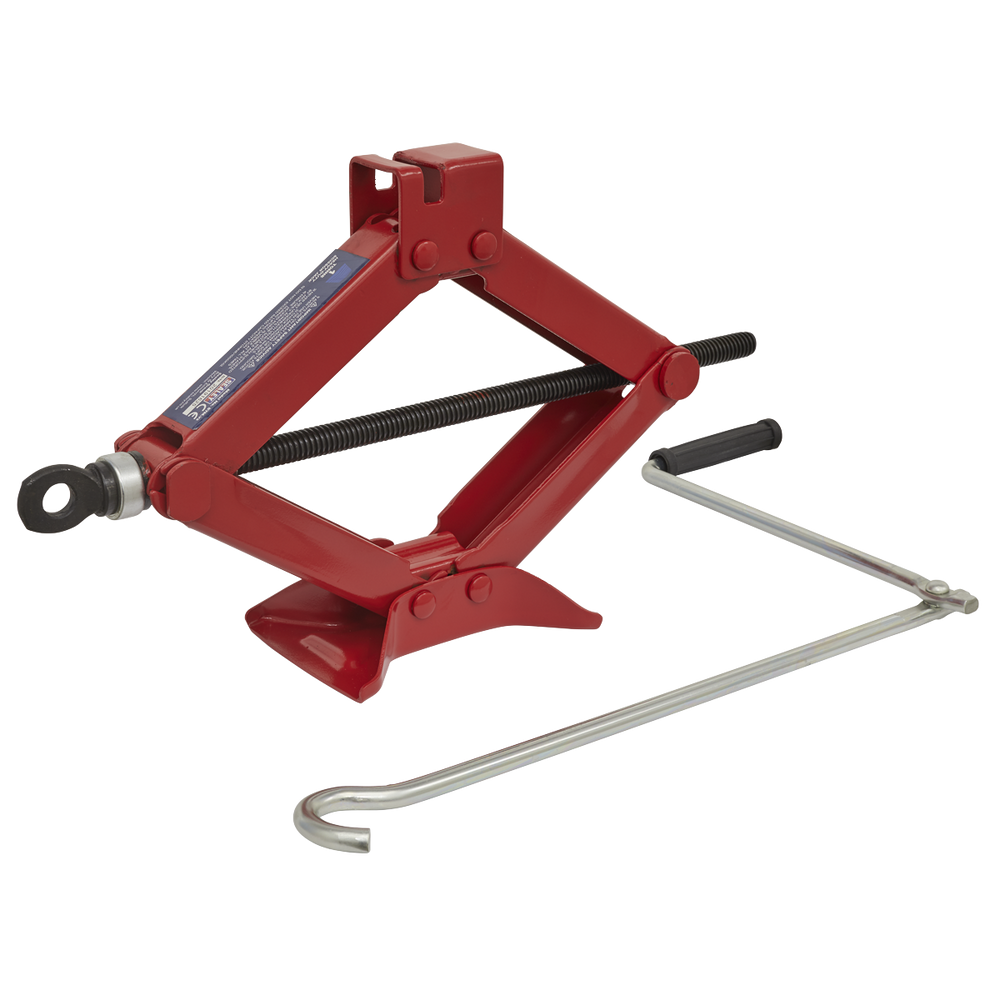 Sealey - 57M Scissor Jack Heavy-Duty 1tonne