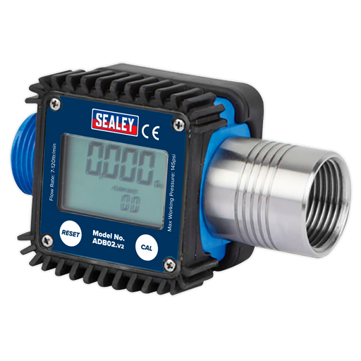 Sealey - ADB02 Digital Flow Meter - AdBlue®