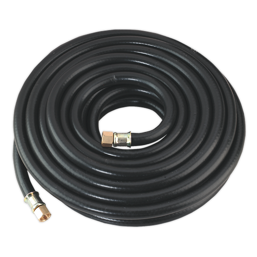 "Sealey - AH10RX Air Hose 10m x Ø8mm with 1/4""BSP Unions Heavy-Duty"