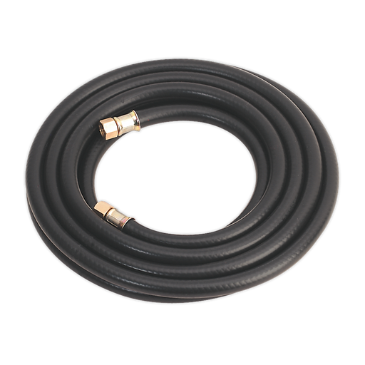 "Sealey - AH5RX Air Hose 5m x Ø8mm with 1/4""BSP Unions Heavy-Duty"