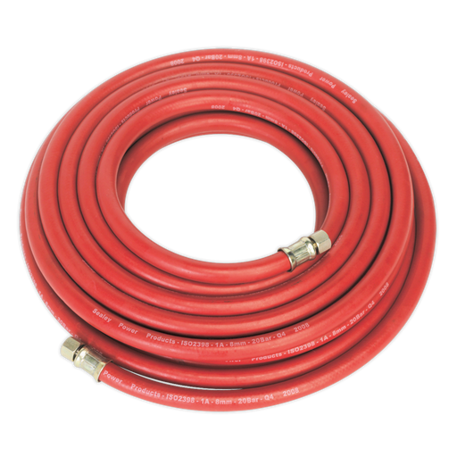 "Sealey - AHC10 Air Hose 10m x Ø8mm with 1/4""BSP Unions"