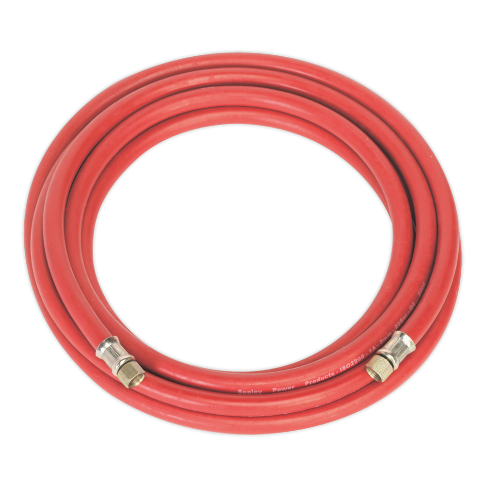 "Sealey - AHC5 Air Hose 5m x Ø8mm with 1/4""BSP Unions"