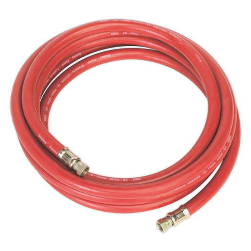 "Sealey - AHC538 Air Hose 5m x Ø10mm with 1/4""BSP Unions"