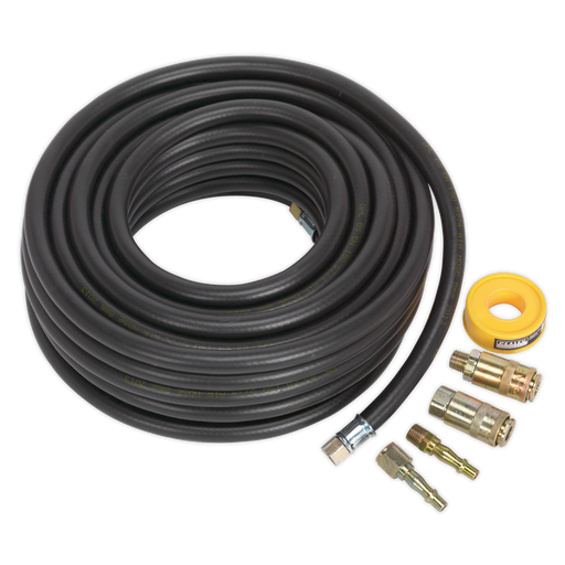 Sealey - AHK01 Air Hose Kit 15m x Ø8mm with Connectors