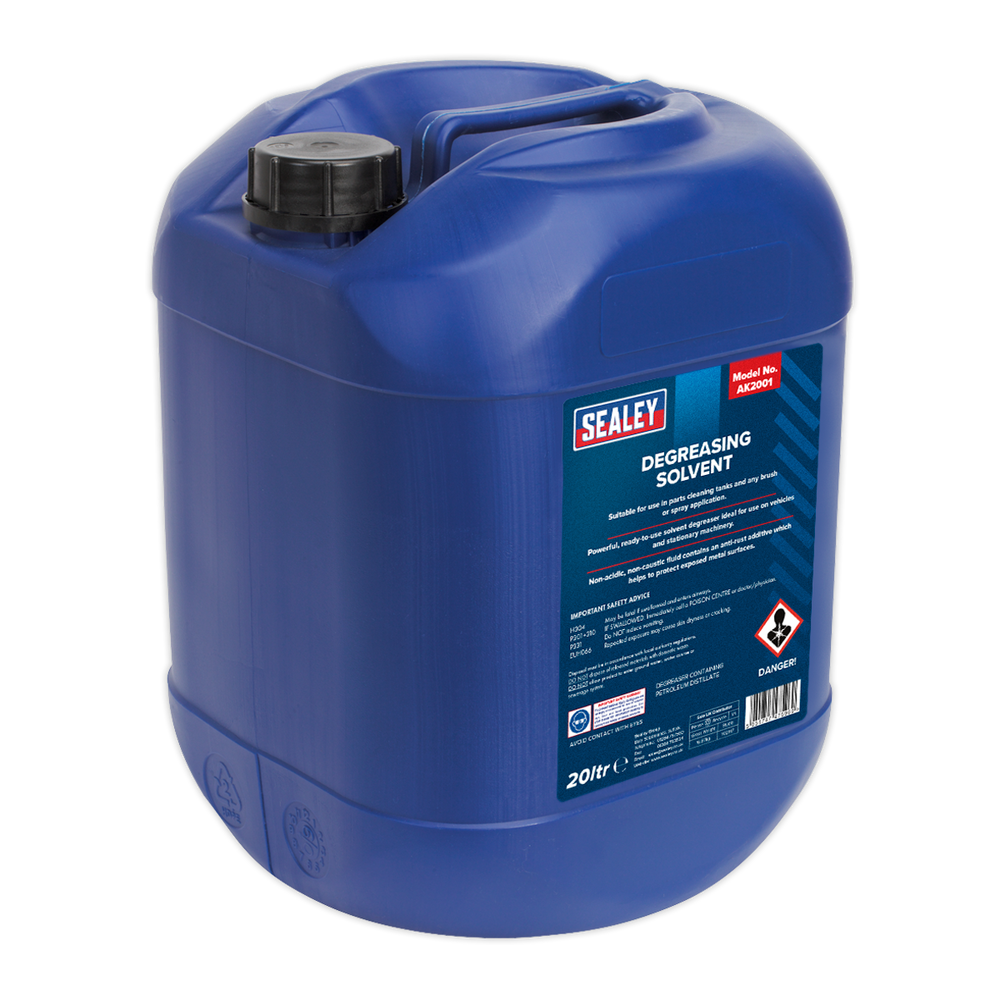 Sealey - AK2001 Degreasing Solvent 20L