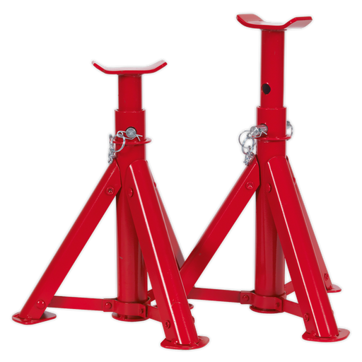 Sealey - AS2000F Axle Stands (Pair) 2tonne Capacity per Stand - Folding Type