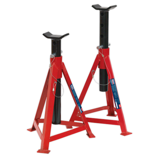 Sealey - AS3000 Axle Stands (Pair) 2.5tonne Capacity per Stand Medium Height
