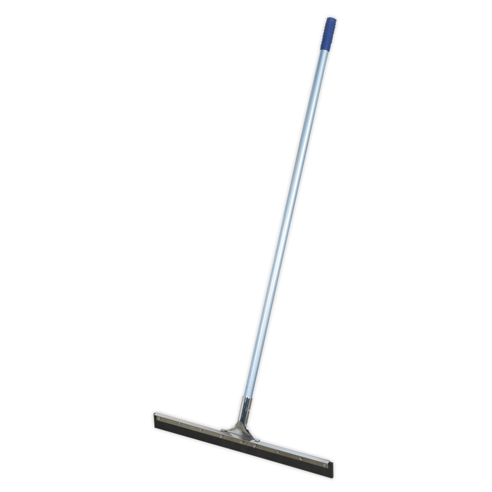 "Sealey - BM24RSM Rubber Floor Squeegee 24""(600mm) with Aluminium Handle"