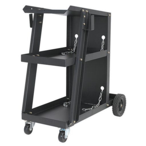 Sealey - BTR4 Universal Trolley for Portable MIG Welders