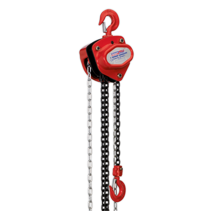 Sealey - CB1000 Chain Block 1tonne 2.5m