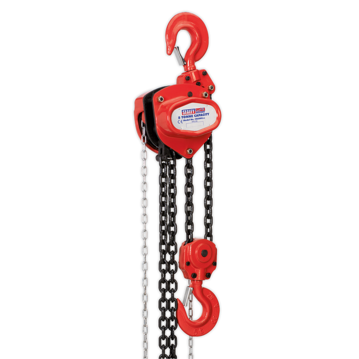 Sealey - CB5000 Chain Block 5tonne 3m