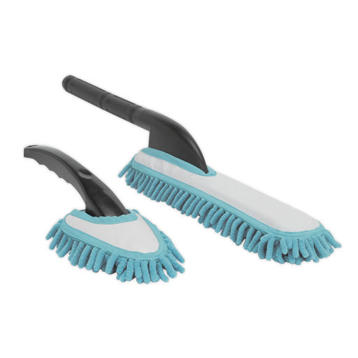 Sealey - CC84 Microfibre Brush Set 2pc