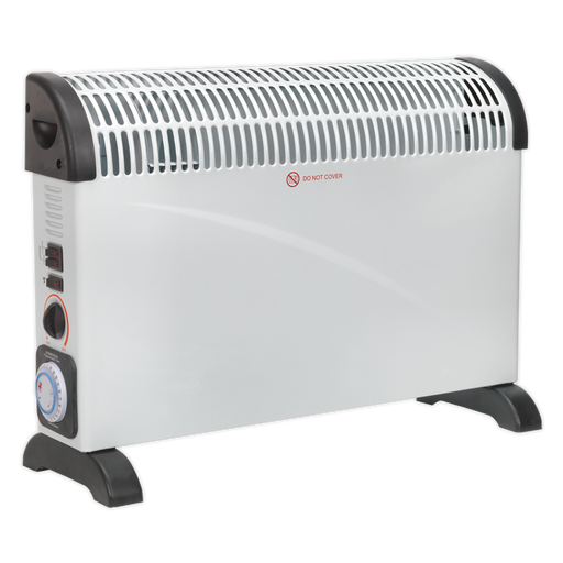 Sealey - CD2005TT Convector Heater 2000W/230V with Turbo, Timer & Thermostat