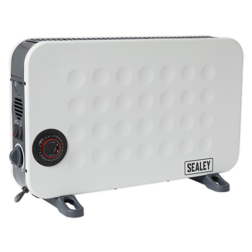 Sealey - CD2013TT Convector Heater 2000W/230V with Turbo & Timer