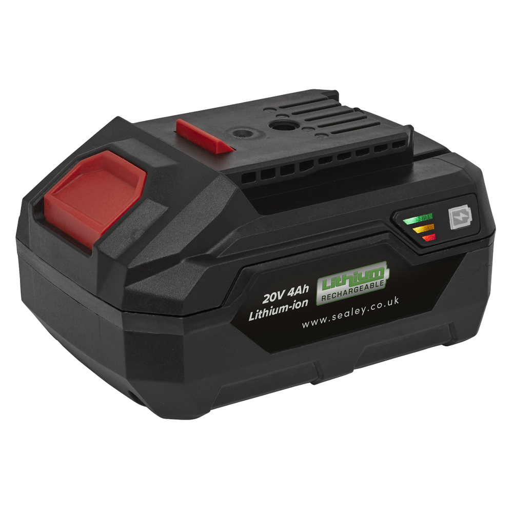 Sealey - CP20VBP4 Power Tool Battery 20V 4Ah Lithium-ion for CP20V Series