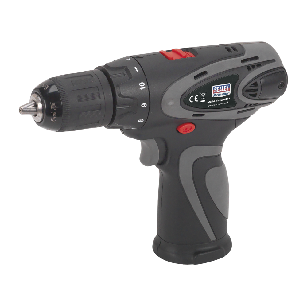 Sealey - CP6014 Drill/Driver Ø10mm 2-Speed 14.4V Li-ion - Body Only