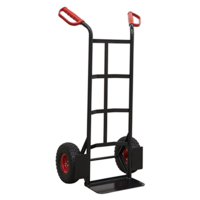 Sealey - CST986HD Heavy-Duty Sack Truck with PU Tyres 250kg Capacity