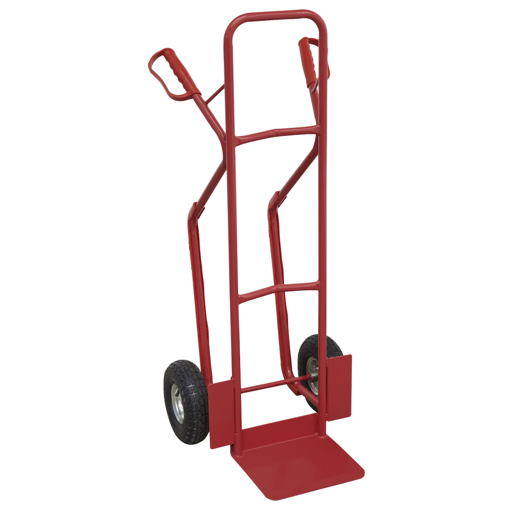 Sealey - CST999 Sack Truck with Pneumatic Tyres 300kg Capacity