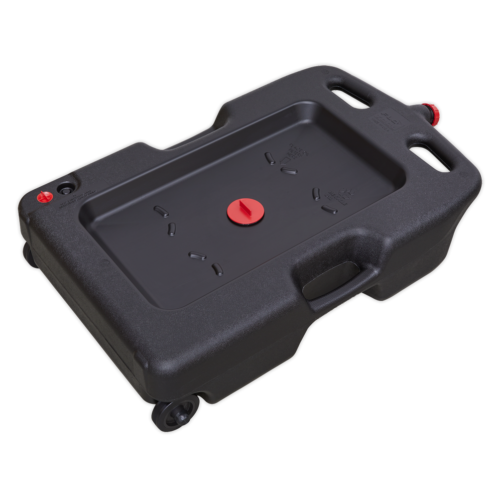 Sealey - DRP09 Oil/Fluid Drain & Recycling Container 54L - Wheeled