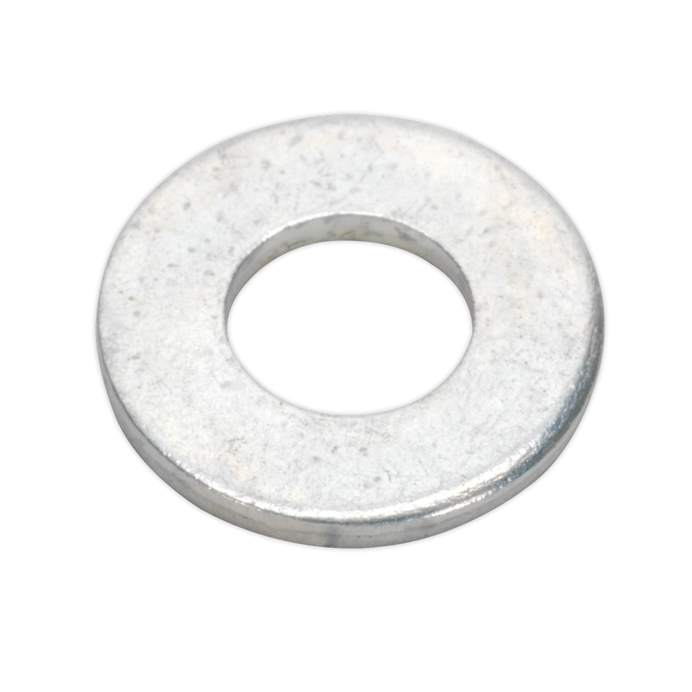 "Sealey - FWI100 Flat Washer 5/16"" x 5/8"" Table 3 Imperial Zinc BS 3410 Pack of 100"