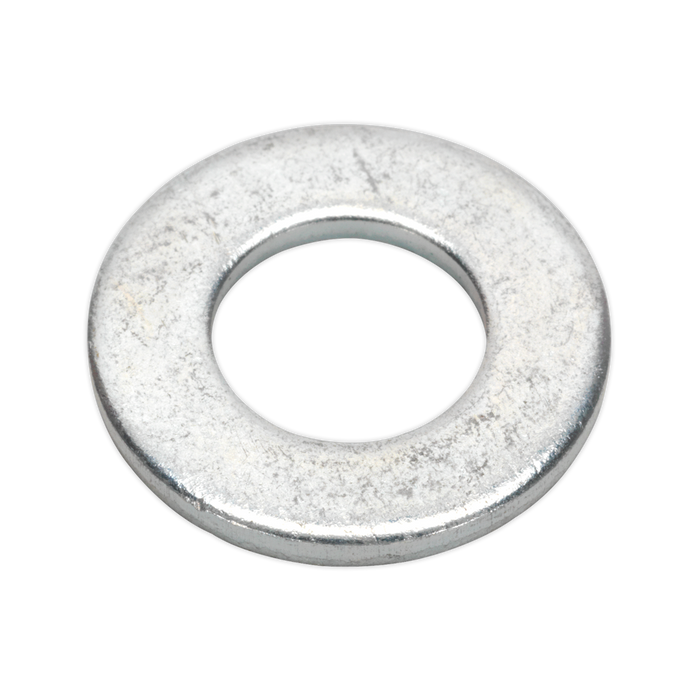"Sealey - FWI105 Flat Washer 1/4"" x 9/16"" Table 3 Imperial Zinc BS 3410 Pack of 100"