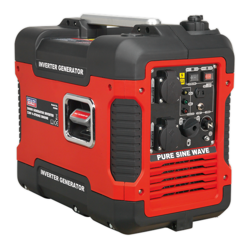 Sealey - G2000I Inverter Generator 2000W 230V 4-Stroke Engine