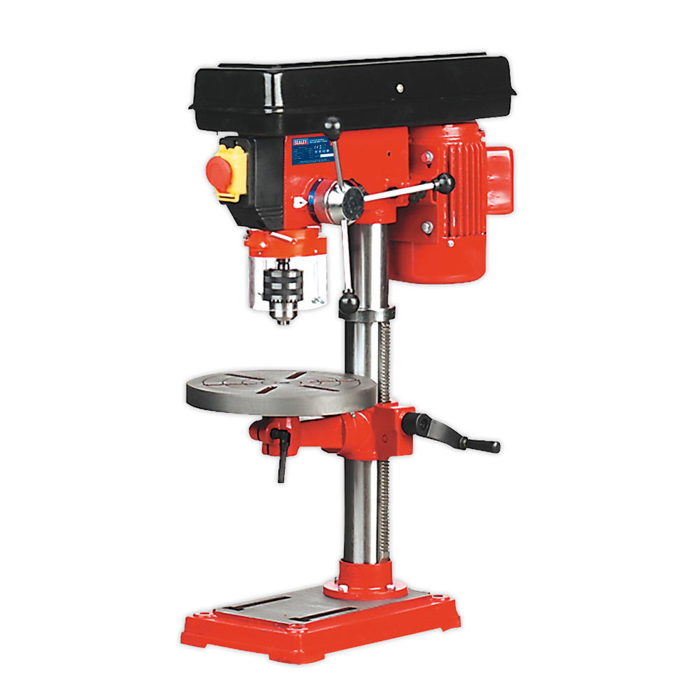 Sealey - GDM50B Pillar Drill Bench 5-Speed 750mm Height 370W/230V
