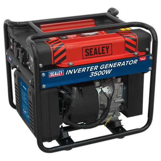 Sealey - GI3500 Inverter Generator 3500W 230V 4-Stroke Engine