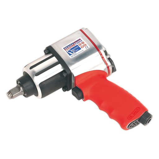 "Sealey - GSA02 Air Impact Wrench 1/2""Sq Drive Twin Hammer"