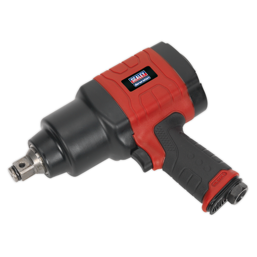 "Sealey - GSA6004 Composite Air Impact Wrench 3/4""Sq Drive Twin Hammer"